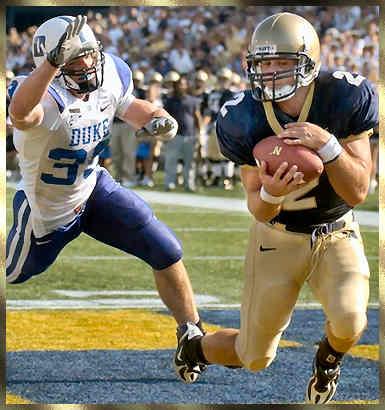 AP Photo at NAVY vs DUKE Football Game 2007