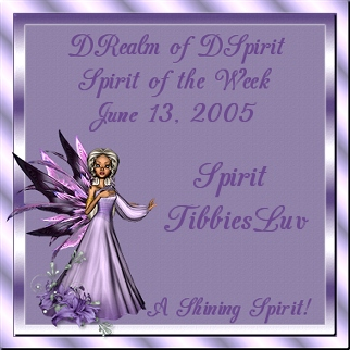 Our first 'Spirit of The Week Award' in June 2005'