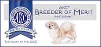 Kathryn E Phillips:AKC Tibetan Spaniel Breeder of Merit