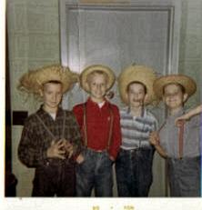 Bill in 1964 as 'Huck Finn'!